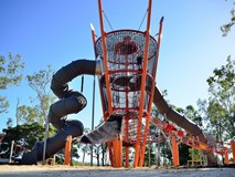 LARGE ROPE PLAY TOWER
