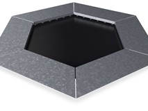 TRAMPOLINE SIX-SIDED 108X108X108