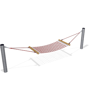 HAMMOCK WITH ROPE AREA
