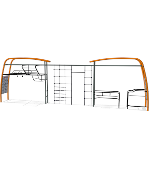 PULL UP BARS, PARALLEL BARS & MULTI NET LINK