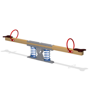 SEESAW WITH SPRINGS