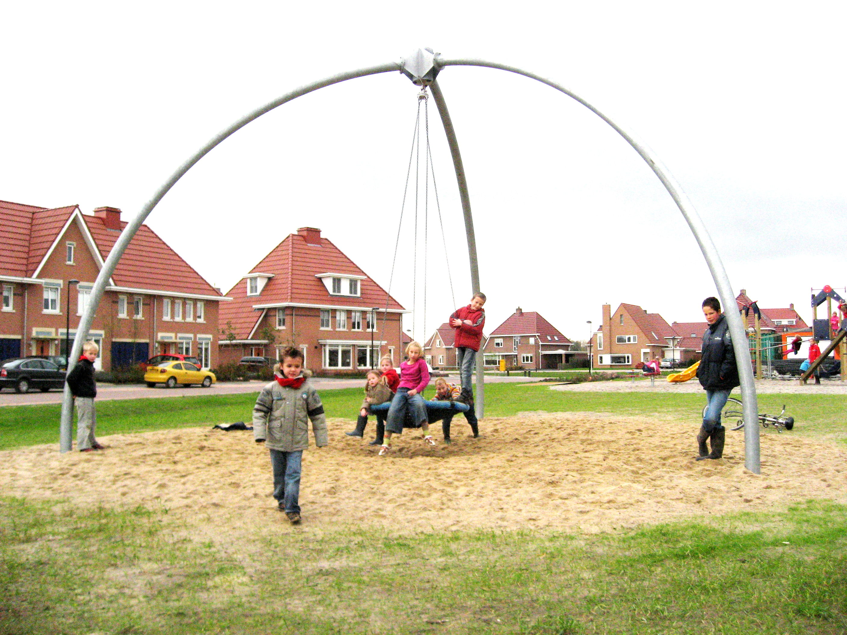 Urban Playground Swing