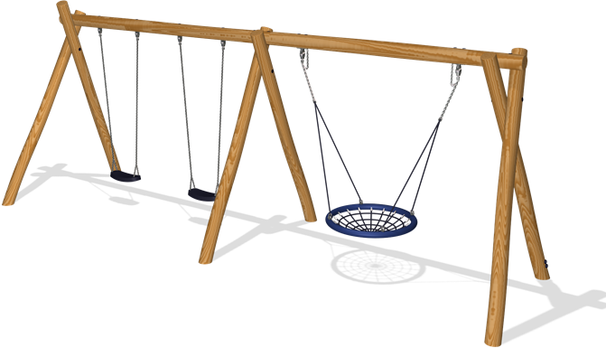 DOUBLE COMBINATION SWING