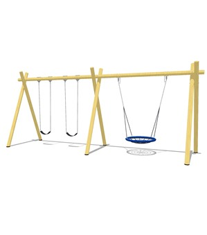 Forest Swing - 2 Bay