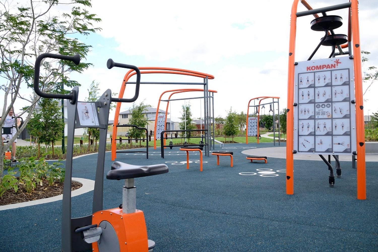 Outdoor Fitness Equipment Case Study Playground People