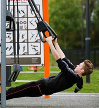 Kompan Fitness Equipment